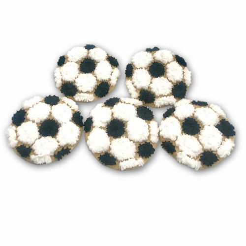 Soccer Ball Cookies