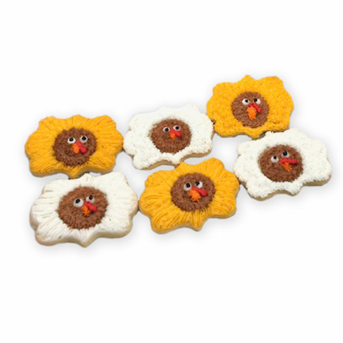 Turkey Medallion Cookies