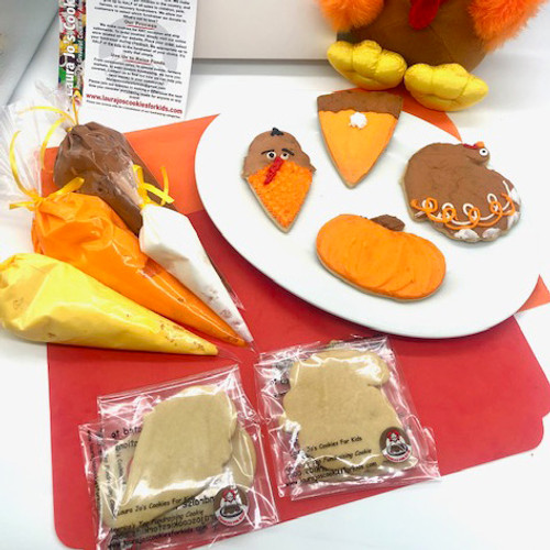 Gluten Free Thanksgiving Cookie Kit