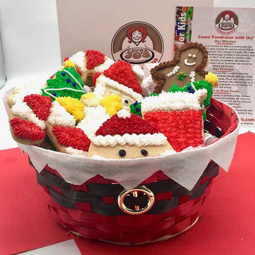 Christmas Basket (10 Cookies) LOCAL DELIVERY ONLY