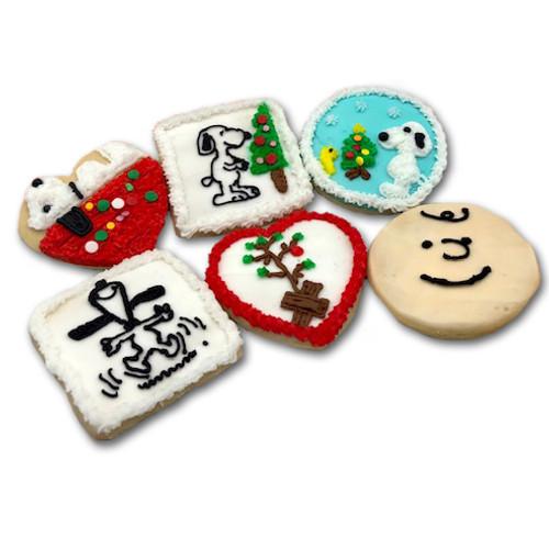 Peanuts Christmas Cookies