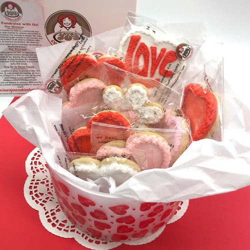 Valentines Sweetheart Basket