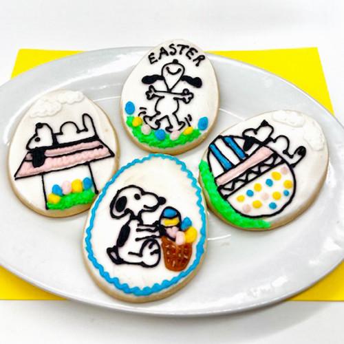 Snoopy Easter Cookies