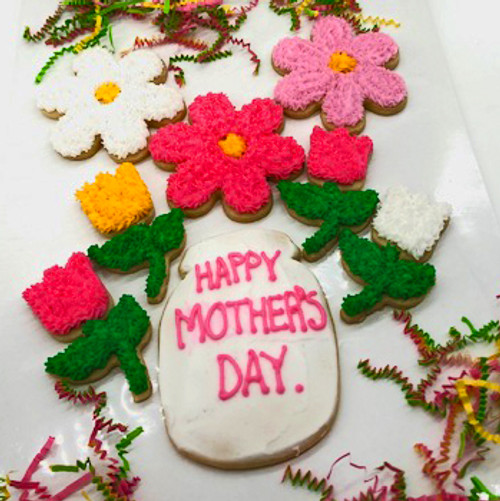 Mother's Day Flower Box of Cookies