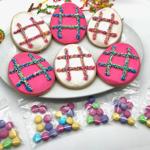Laura Jo's Tic Tac Toe Easter Cookies