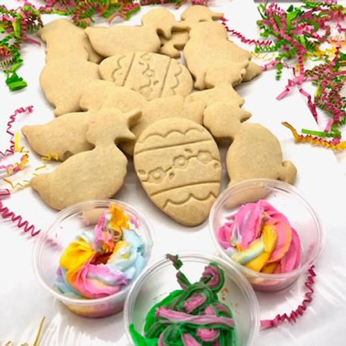 Laura Jo's Easter Buttercream Dunkers