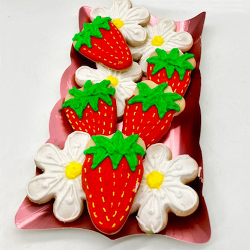 Mother's Day Flower & Fruit Mix Cookies