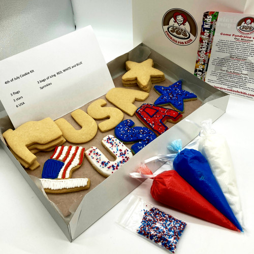 Fourth of July Cookie Kits
