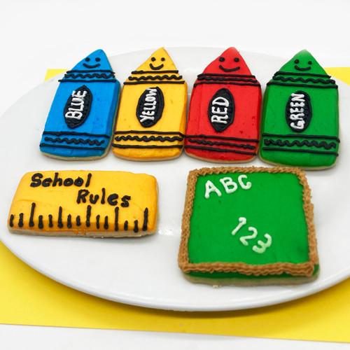 Return to School Cookies