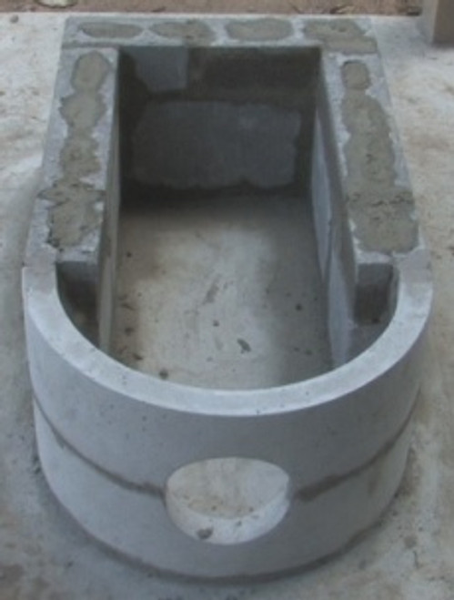 This is how the barrel supports are used.