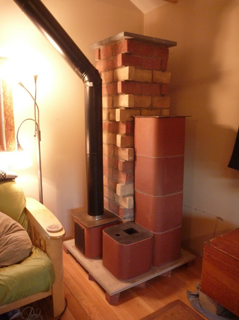 "4"" Rocket Masonry Heater Castle Build Kit"