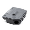 Mastertrap Sentinel Rat and Mouse Bait Station Box with Rodex25 Poison Blocks and Snap Trap