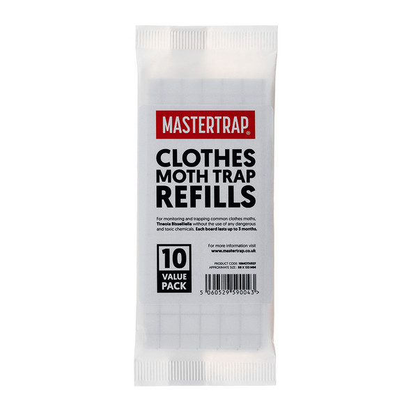 Mastertrap Clothes Moth Trap Refill Pads (10MOTHREF)