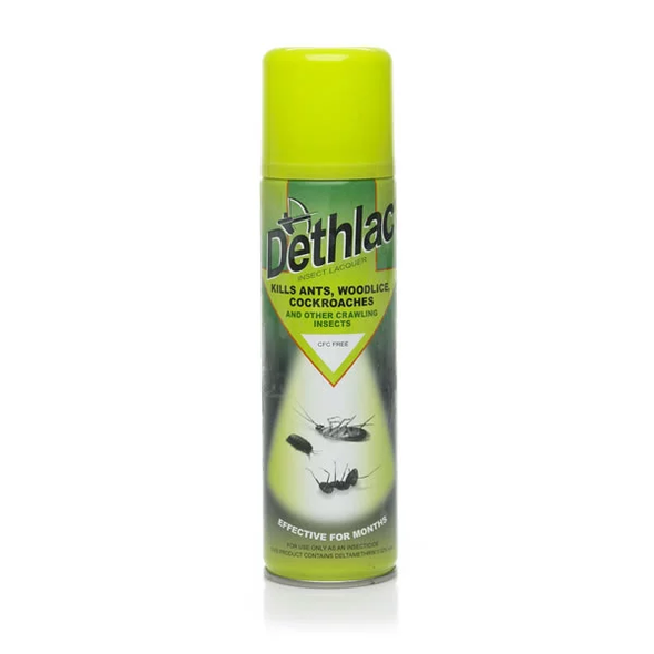Dethlac Insect Killer Lacquer Spray 250ml