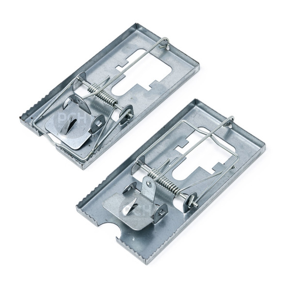 Mastertrap Reusable Metal Mouse Traps Twin Pack
