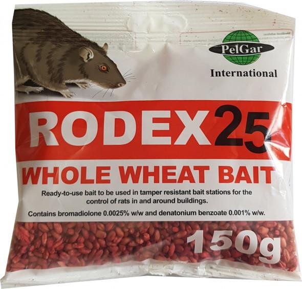 Pelgar Rodex 25 Whole Wheat Grain Rat Killer Bait Poison