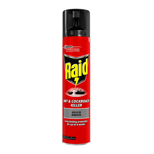 Raid Ant and Cockroach Killer Spray 300ml