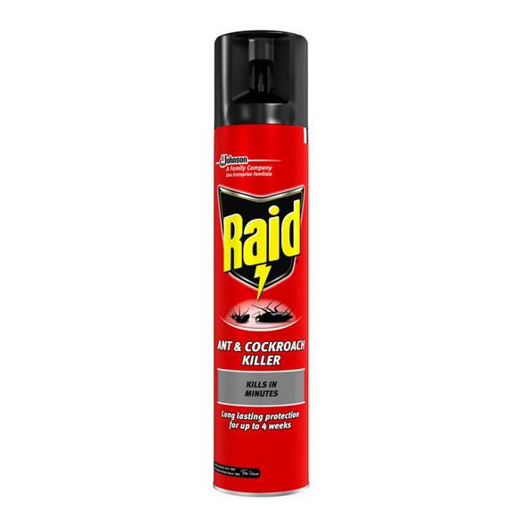 Raid Ant and Cockroach Killer Spray 300ml