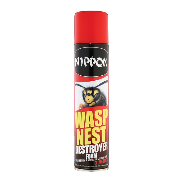 Nippon Wasp Nest Destroyer Foam 300ml