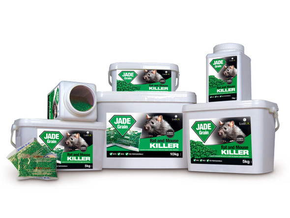 Jade Grain Bait Rat and Mouse Killer Poison Bromadiolone