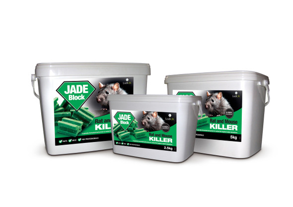 Jade Block Rat and Mouse Killer Poison Bromadiolone Blocks