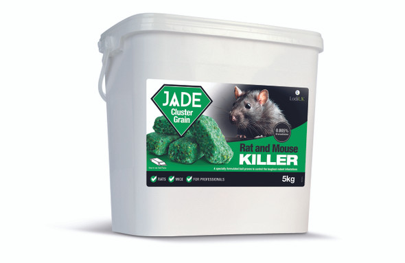 Lodi Jade Cluster Grain Rat and Mouse Killer Poison Bromadiolone 5kg