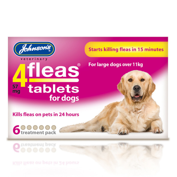 Johnsons 4fleas Tablets for Dogs (6 tablets)