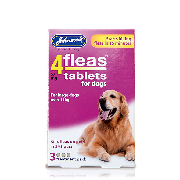 Johnsons 4fleas Tablets for Dogs (3 tablets)