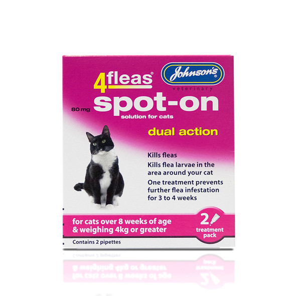 Johnsons 4fleas Spot-On Dual Action for Cats