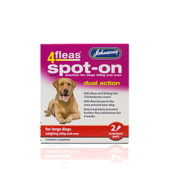 Johnsons 4fleas Spot-On Dual Action for Large Dogs