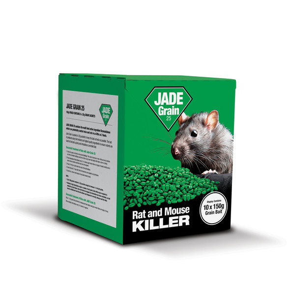 Lodi Jade Grain 25 Rat and Mouse Killer Poison Bromadiolone (JGRCPK)