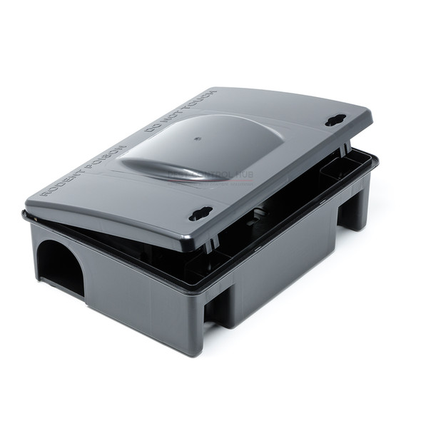 Mastertrap Rat Bait Station Professional Poison Bait Box for Rats and Mice