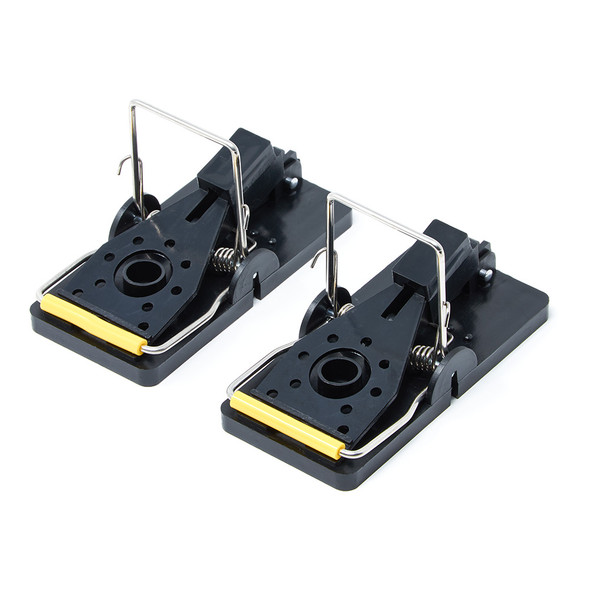 Mouse Trap Heavy Duty Easy Set Snap Traps for Mice 2 Pack