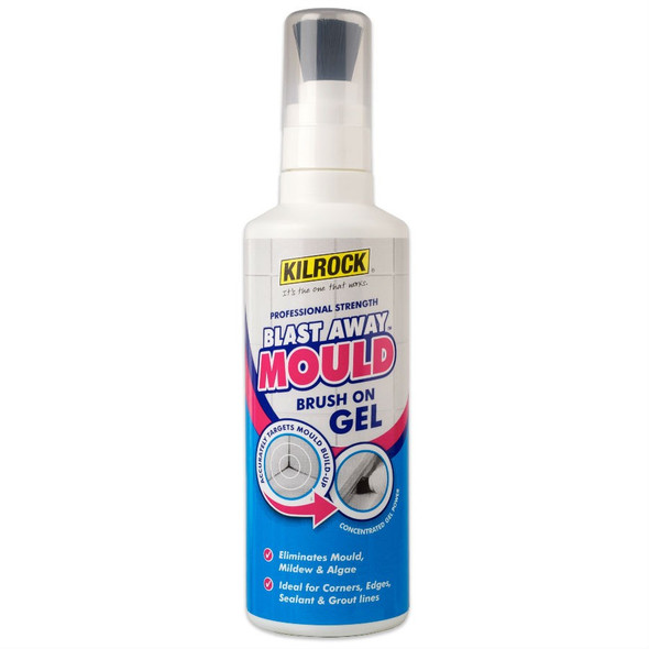 Kilrock Blast Away Mould Remover Brush-On Gel 250ml