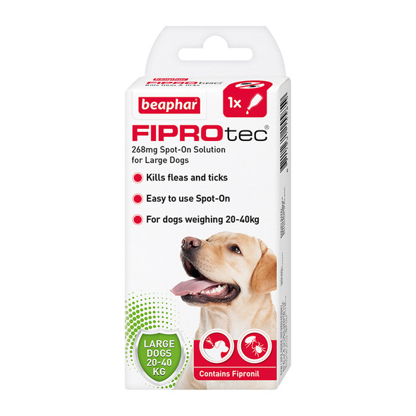 FIPROtec Fipronil Spot-on Solution for Large Dogs (15585)