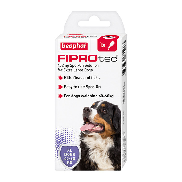 FIPROtec Fipronil Spot-on Solution for Extra Large Dogs (15586)