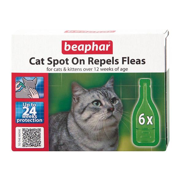 Beaphar Cat Spot On Flea Treatment 24 Weeks Protection