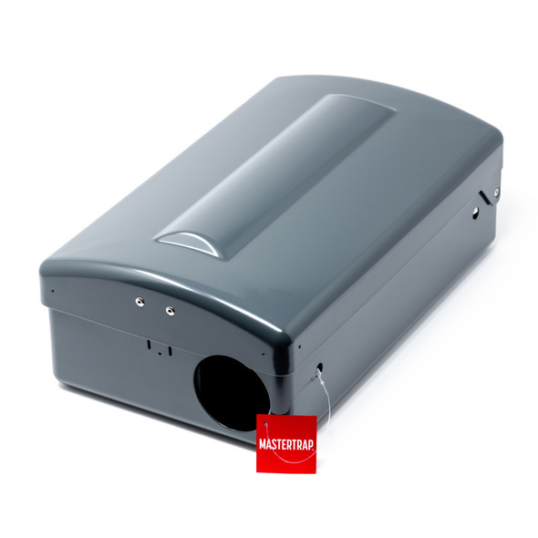 Mastertrap Metal Rat Bait Station Box with Removable Liner (MTMRBS)