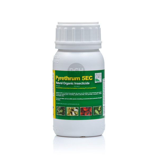 Pyrethrum 5EC Natural Organic Insecticide Concentrate 250ml Front