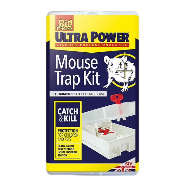 The Big Cheese Ultra Power Mouse Trap Kit for Mice