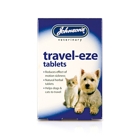 Johnson's Travel-Eze Tablets for Cats and Dogs