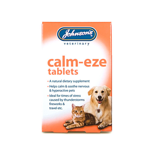 Johnson's Calm-Eze Tablets for Cats and Dogs