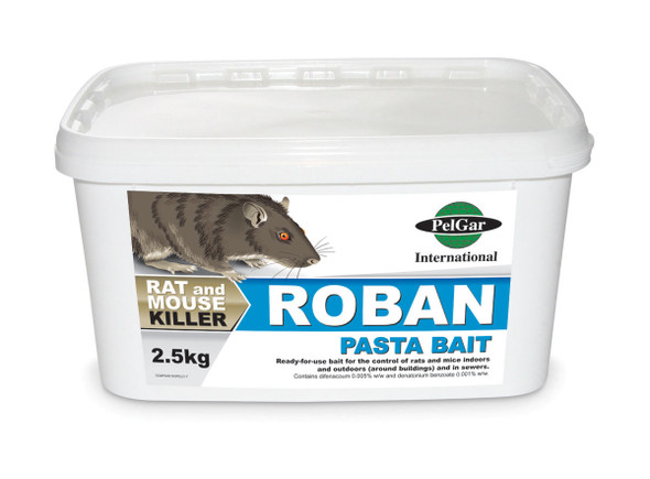 Pelgar Roban Pasta Bait Rat and Mouse Poison 50PPM