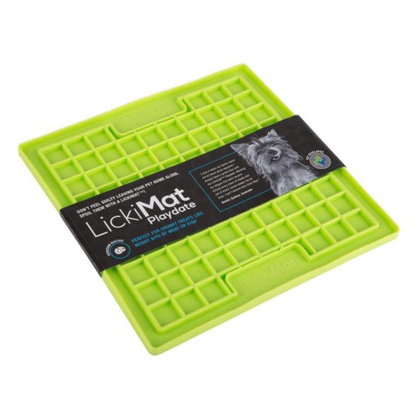 LickiMat Playdate Dog Treat Creating Mat Small 20cm