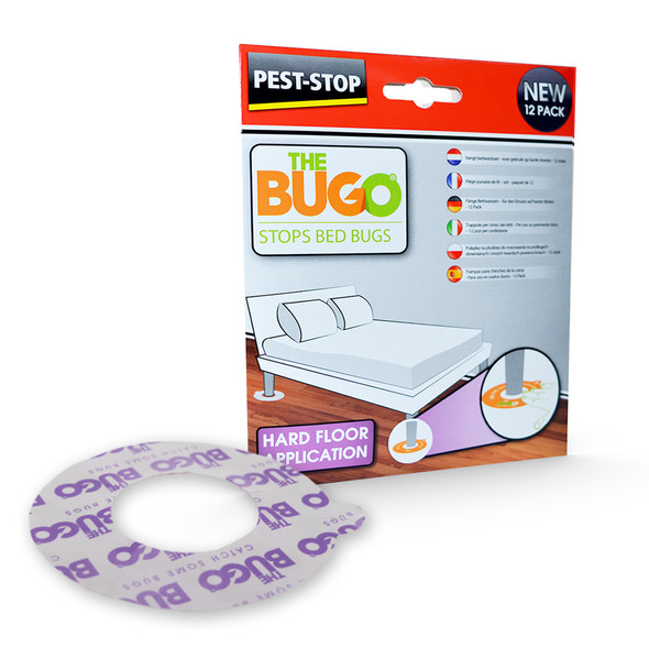 Pest-Stop Bugo Bed Bug Monitoring Traps for Hard Floors
