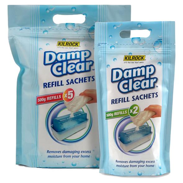 Kilrock Damp Clear Moisture Trap Refill Crystals