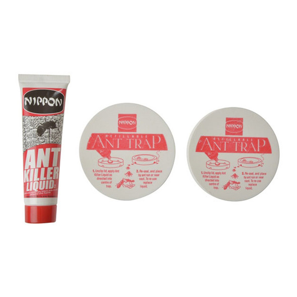 Nippon Ant Control System 2 Traps with 25g Liquid