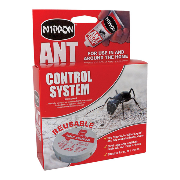 Nippon Ant Control System 2 Traps with 25g Liquid (5NI50)