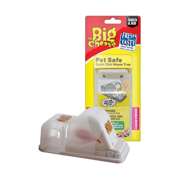 The Big Cheese Pet Safe Quick Click Mouse Trap (STV157)