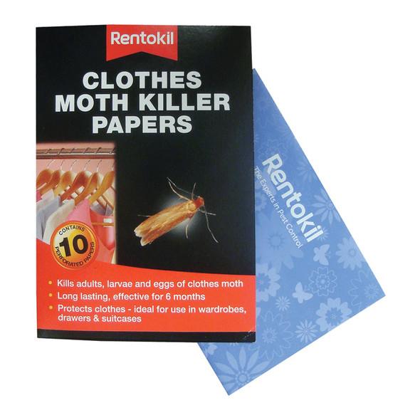 Rentokil Moth Killer Strips (Papers) 1x12